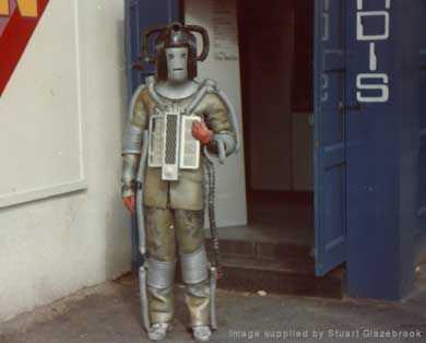 The Revenge Cyberleader welcomes visitors in 1975