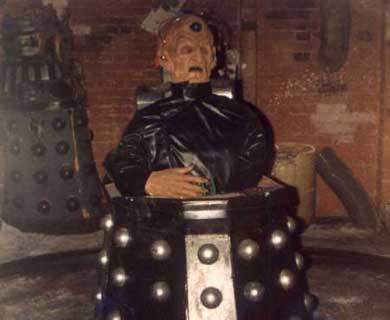Davros on display in 1984