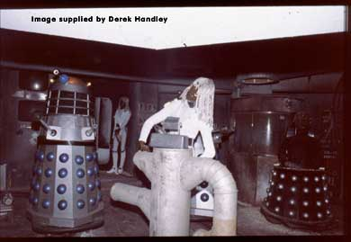 The Movellans join the Blackpool Dalek set in 1980