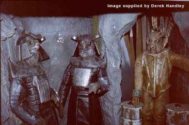 The Silurian orders the Sea Devils to the Exhibition in 1984