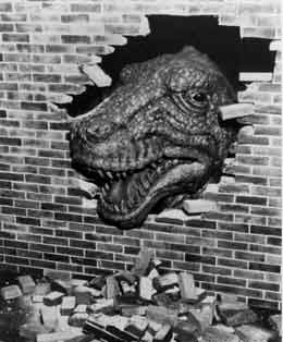 T-Rex breaks into the Exhibition in 1974