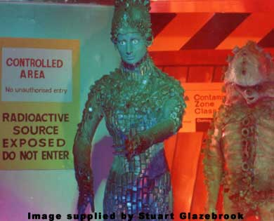 Eldrad and Zygon on display in 1977