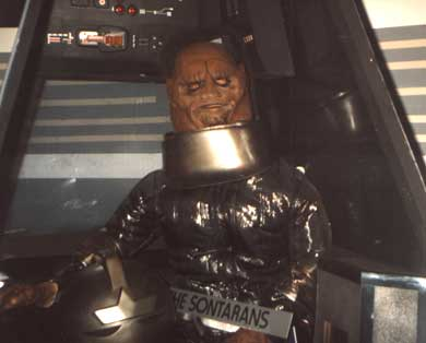 A Sontaran from 'The Two Doctors in 1984