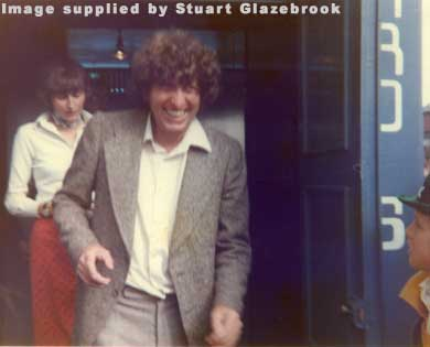 Tom Baker visits the Exhibition in 1976