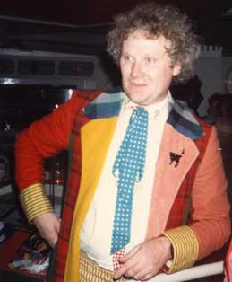 Colin Baker in Blackpool for Children-In-Need