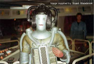 Cyberleader in the Console Room