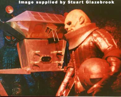 Styre and his robot from Blackpool in 1976