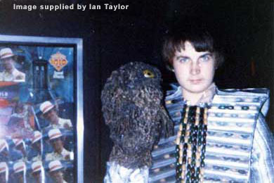 Kevin Taylor models Scaroth in 1981