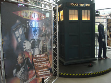 The TARDIS is sent to Coventry