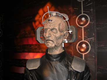Davros was now in his fourth regeneration