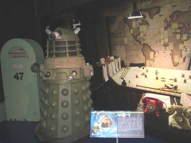 Daleks go green for Victory!