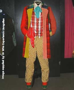 The Sixth Doctor Costume