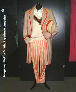 The Fifth Doctor costume
