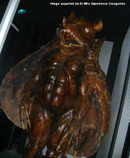 The Magma creature from CAVES OF ANDROZANI