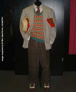 The Sixth Doctors Costume