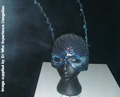 Nyssa's Mask from 'Black Orchid'