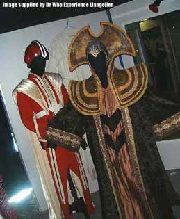 Surviving Timelord and Chancellery Guard costumes