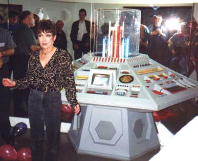 Debbie unviels the new console in 1999