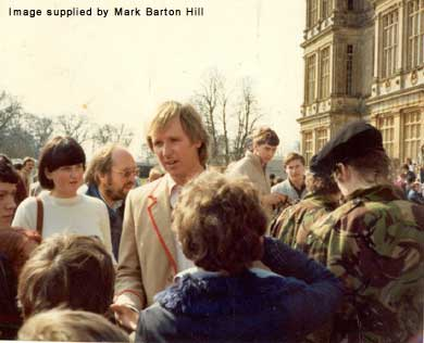 Peter Davison at the 1983 Celebration weekend