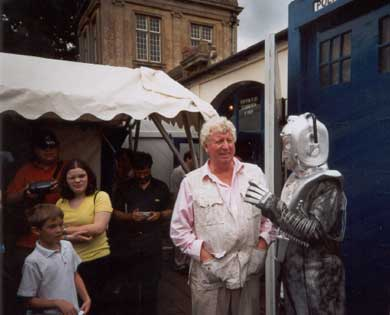 I was adored once, says the Cyberleader to Tom