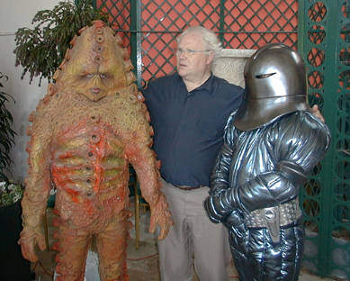 Colin Baker and friends