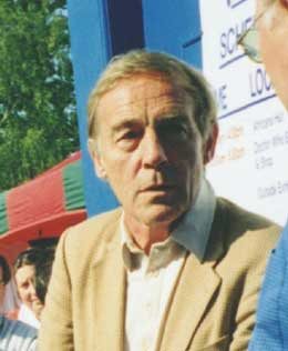 Michael Jayston appeared with Colin Baker at Longleat in 1998