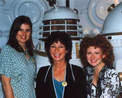 Sophie Aldred, carole Anne Ford and Bonnie Langford at the MOMI press launch