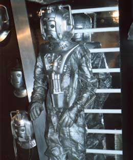 Part of the Cybermen display
