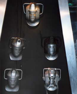 Various Cyberheads on show