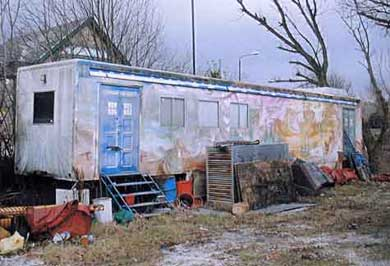 The Trailer today,  the distinctive artwork still visible
