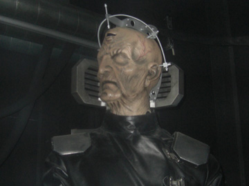 Next on the karaoke...Davros!